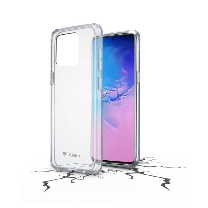 CELLULAR LINE Hardcase Clear Duo (Galaxy S20 Ultra, Transparente)