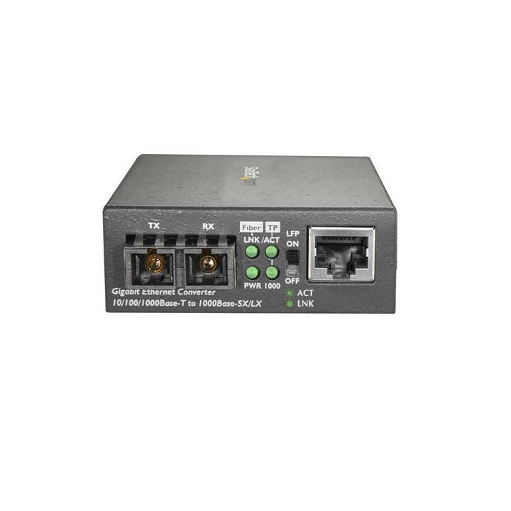 STARTECH.COM Gigabit Ethernet to SC (RJ-45 (LAN), 1 GB/s)