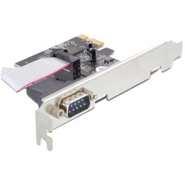 Scheda PCI Express DELOCK Adattatore seriale per schede PCI Express