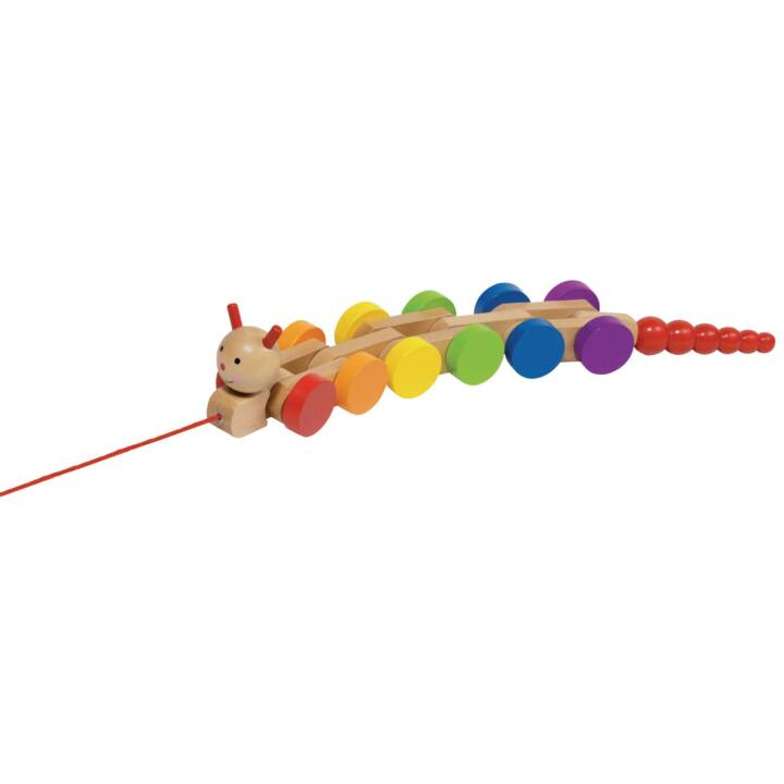 GOKI tirare lungo bruco giocattolo giocattolo Nila