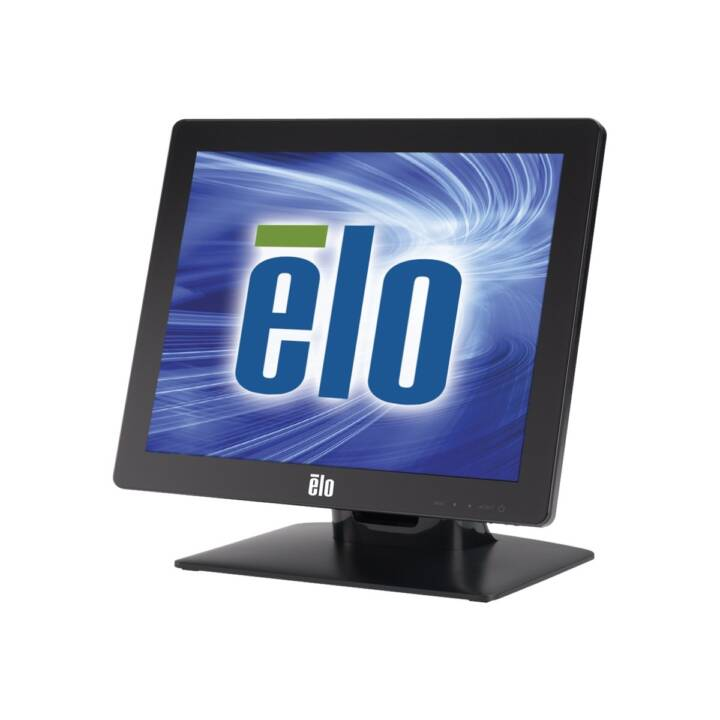 "ELO Desktop Touchmonitors 1517L iTouch Zero-Bezel, 15"" Touchscreen, Black"
