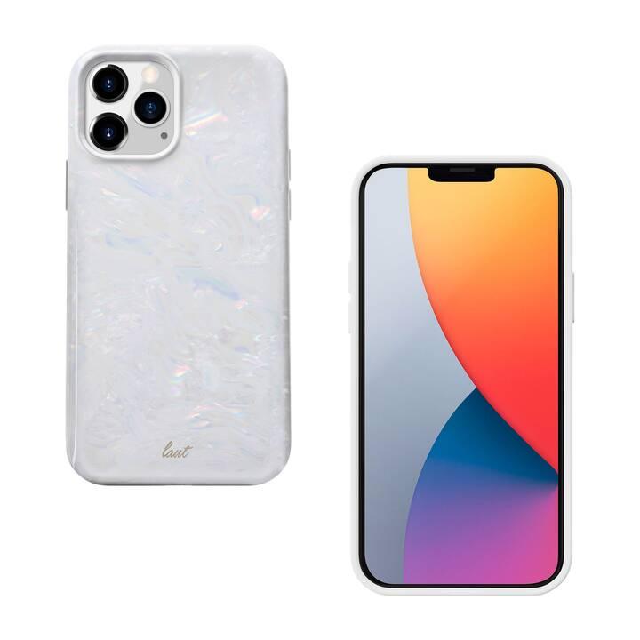 LAUT Backcover Arctic Pearl (iPhone 12 Mini, Blanc)