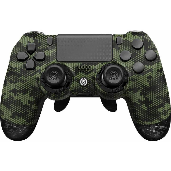 SCUF GAMING Infinity 4PS Pro - Hex Camo Green Gamepad (Grün, Camouflage)
