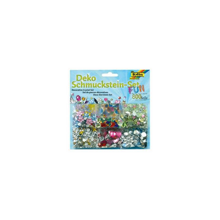 FOLIA Pietra preziosa Fun 800 (Multicolore)
