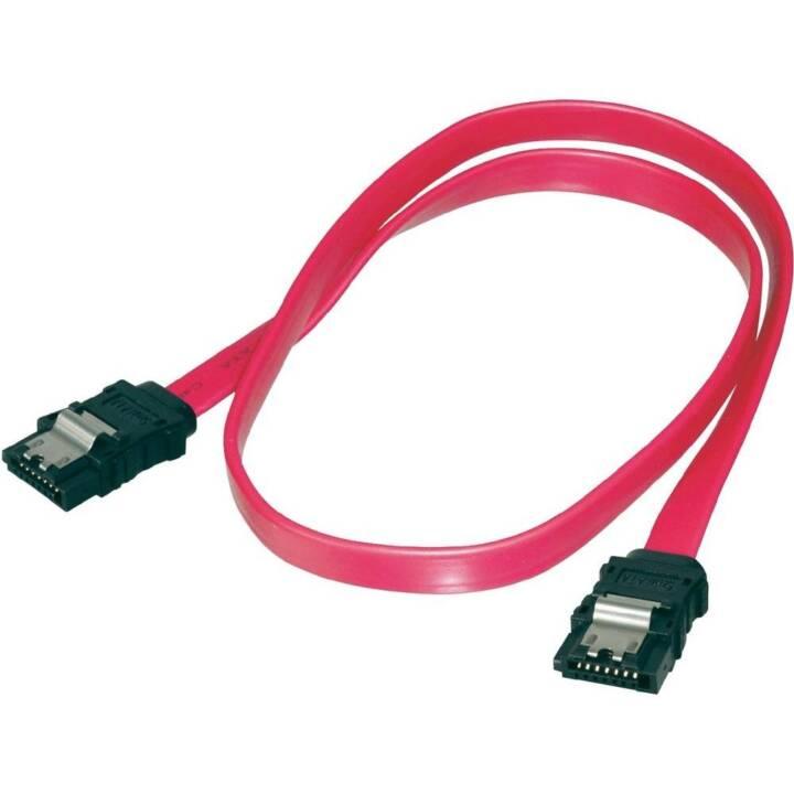 Equip SATA-3 Verlängerungskabel Stecker zu Stecker 1 Meter, Red