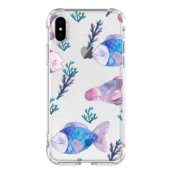 "EG MTT custodia per iPhone XR 6.1"" 2018 - pesce"