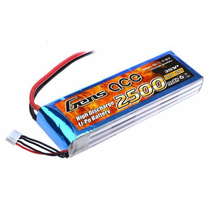 GENS Batterie ACE RC LiPo 2500 mAh