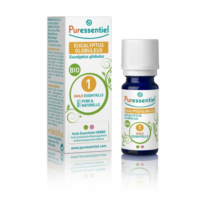 PURESSENTIEL Olio essenziale Bio (Eucalipto, 10 ml)