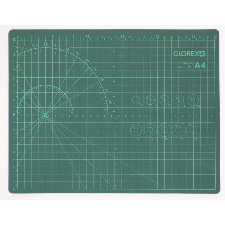 GLOREX Tapis de coupe (Vert)