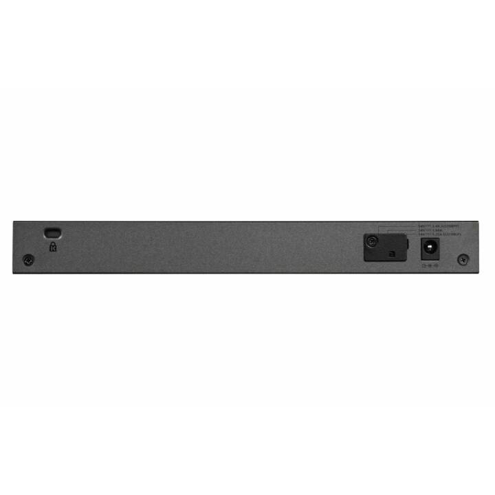 NETGEAR GS108LP - Interruttore - 8 connettori - montabile su rack