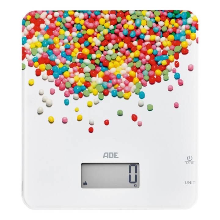 ADE Küchenwaage Candy Love Pearls (Mehrfarbig)