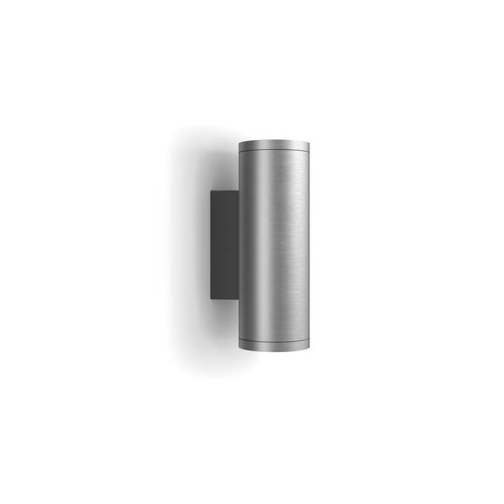 PHILIPS HUE Lampada da parete Appear (LED, 8 W, Argento)