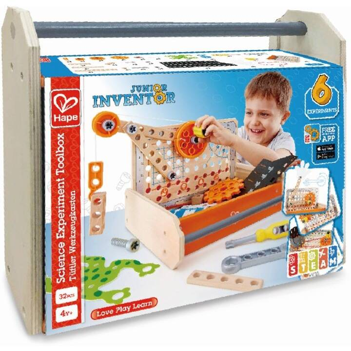 HAPE TOYS Science Experiment Toolbox