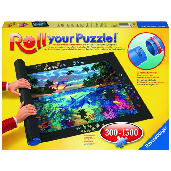 RAVENSBURGER Roll your Puzzle (1500 x, Puzzlerolle)