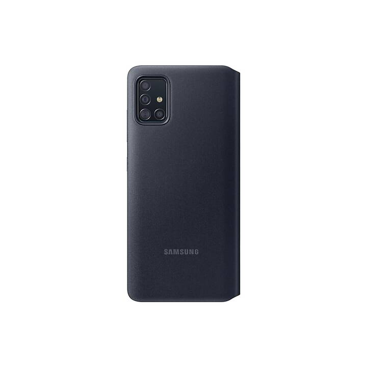 SAMSUNG Flipcover S-View (Galaxy A51, Schwarz)