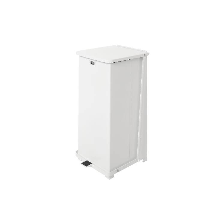 RUBBERMAID Pattumiera Defenders (95 l, Bianco)