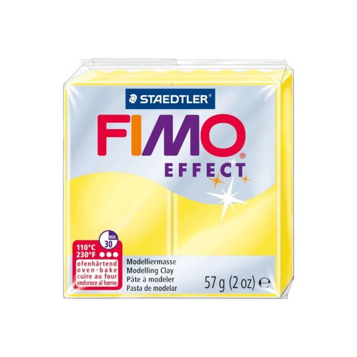 FIMO Pâte à modeler Effect (Jaune, 57 g)