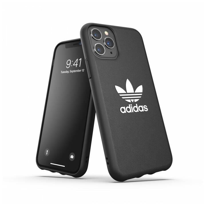 ADIDAS Backcover Moulded Basic (iPhone 11 Pro, Blanc, Noir)