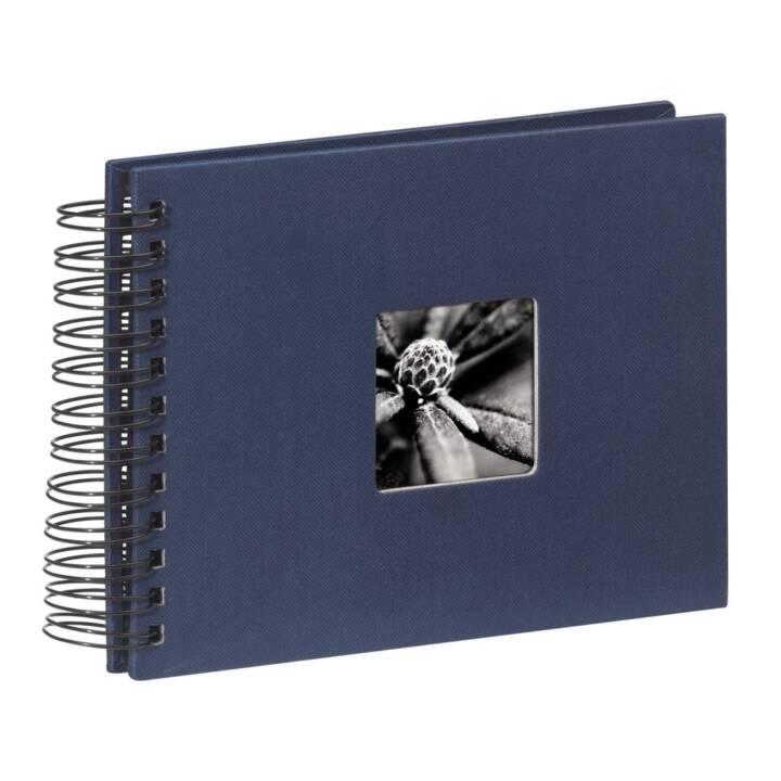 HAMA Album en spirale pour beaux-arts, 240x170 mm, bleu