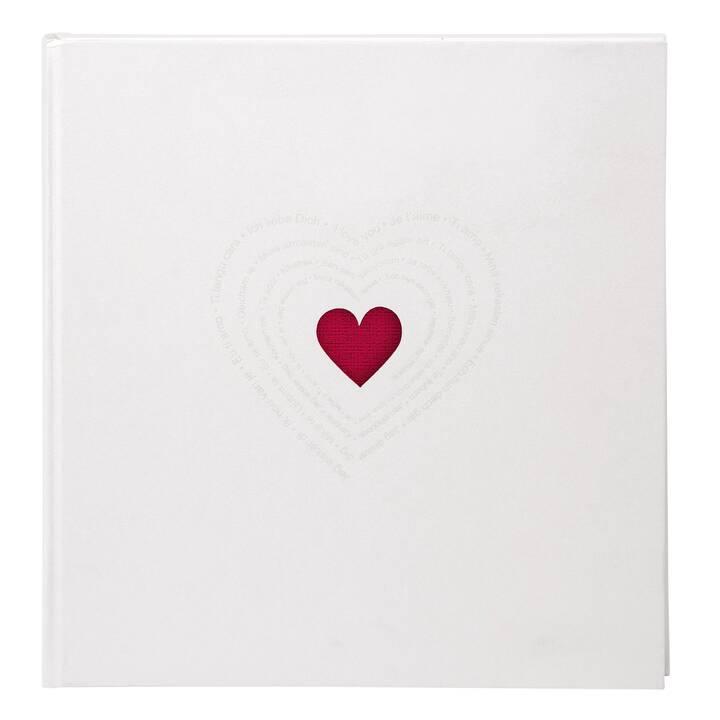 GOLDBUCH Ti Amo Album fotografico (Bianco, Multicolore, Rosso)