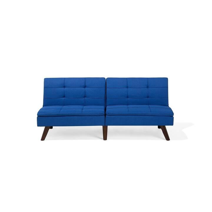 BELIANI Ronne Canapé-lit (Polyester, Bleu de cobalt)
