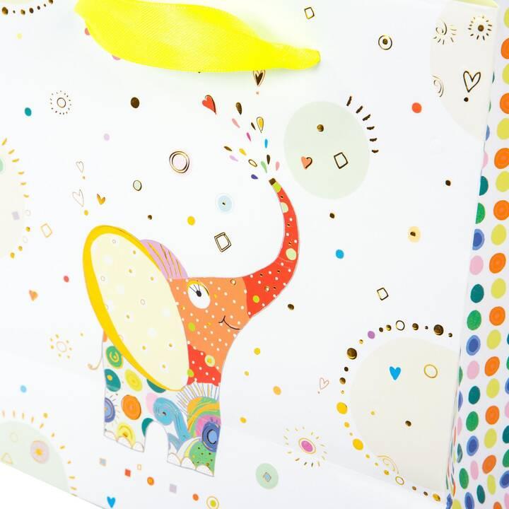 GOLDBUCH Sachet cadeau Elephant (Multicolore, Animal)