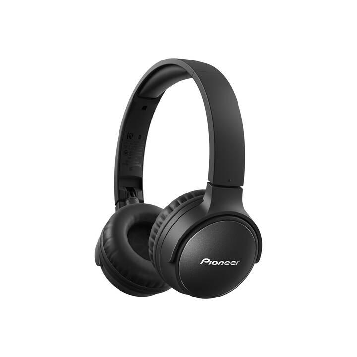 PIONEER SE-S6BN-B (On-Ear, Bluetooth 5.0, Noir)