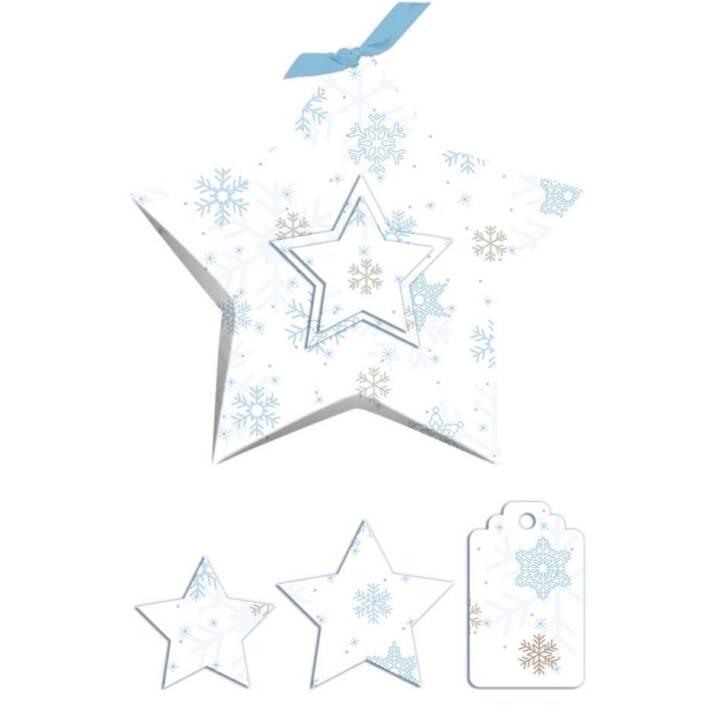 URSUS Geschenkbox Stella Sterne 5 Stück,