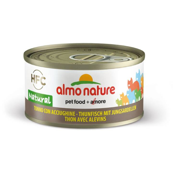 ALMO NATURE HFC Natural (Adulte, 70 g, Thon, Anchois)