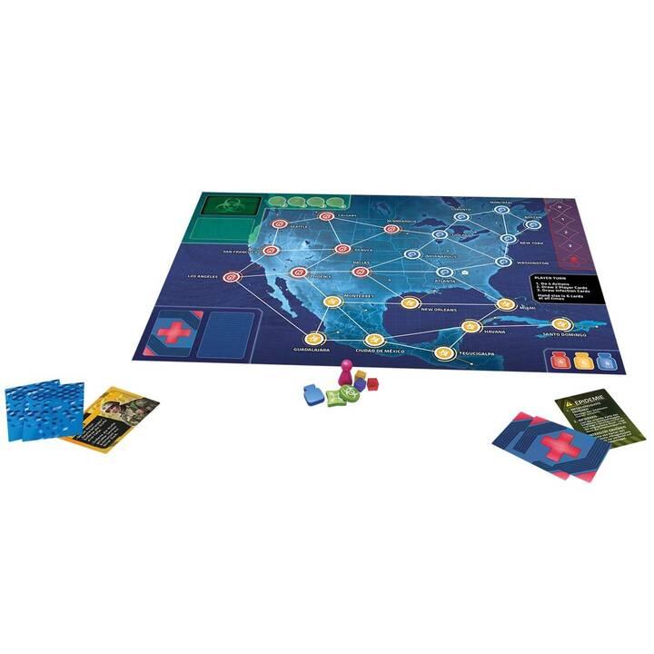 Z-MAN GAMES Pandemic Hot Zone: Nordamerika Jeu de stratégie