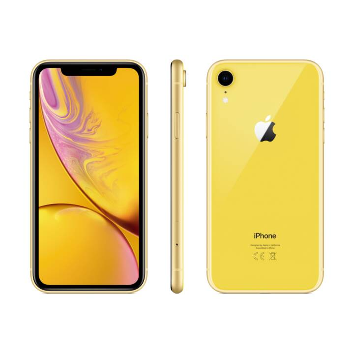 APPLE iPhone XR (64.0 GB, 6.1 inch, 12.0 MP, Gelb)