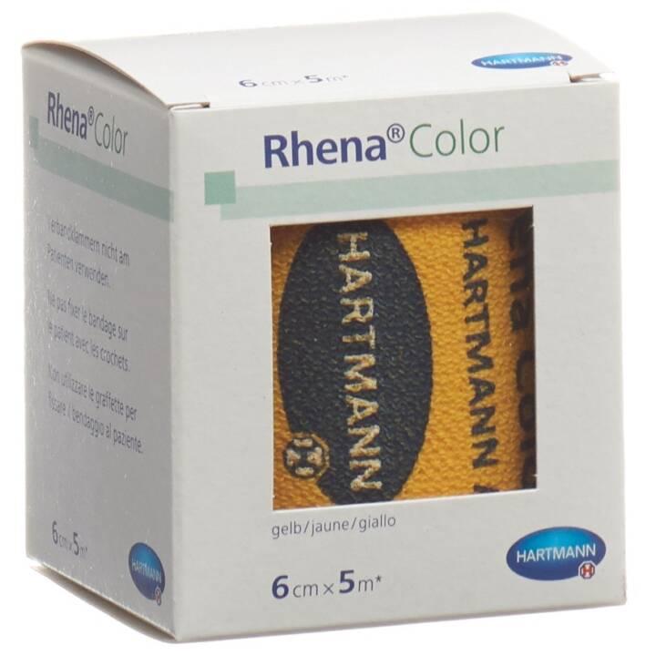 Rhena Color Elastische Binden 6cmx5m gel