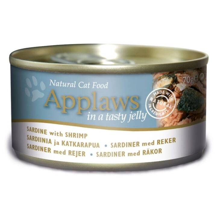 APPLAWS Tin Jelly (Adulte, Poisson, 70 g)