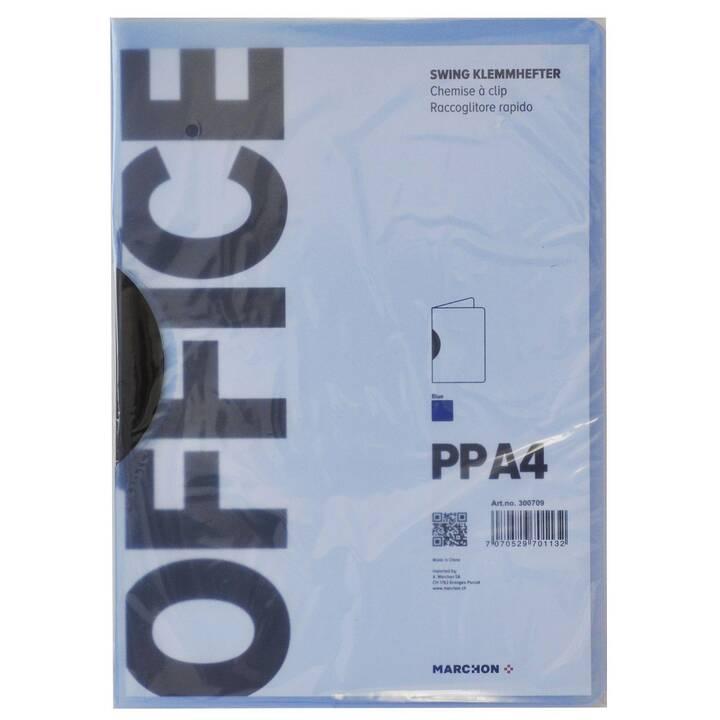 MARCHON OFFICE Dossier de candidature (Bleu, A4, 1 pièce)