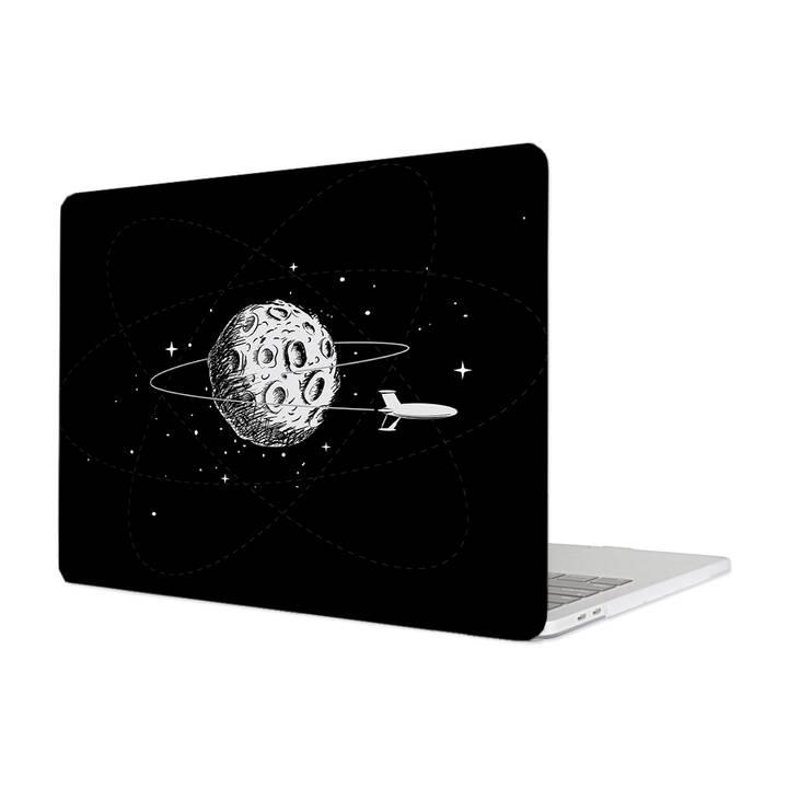 """EG MTT Hülle für Macbook Pro 13"""" CD-ROM (2008 - Anfang 2012) - Cartoon Astronaut"""