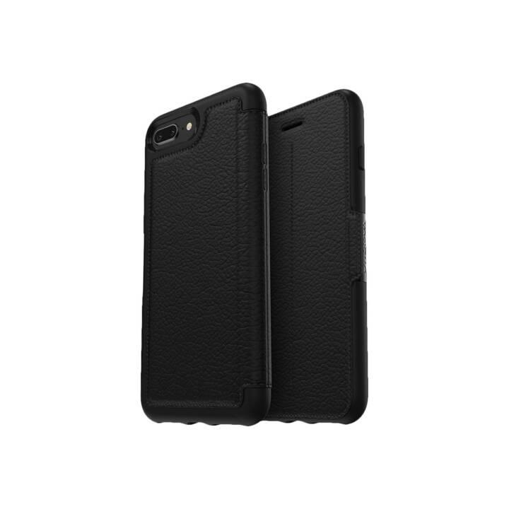 OTTER PRODOTTI Flip Cover Box Strada iPhone 8+/7+ Nero