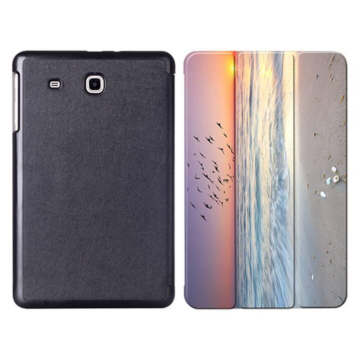 """EG MTT sachet à comprimés avec étui pliable pour Samsung Galaxy Tab E 9.6"""" - Sky"""
