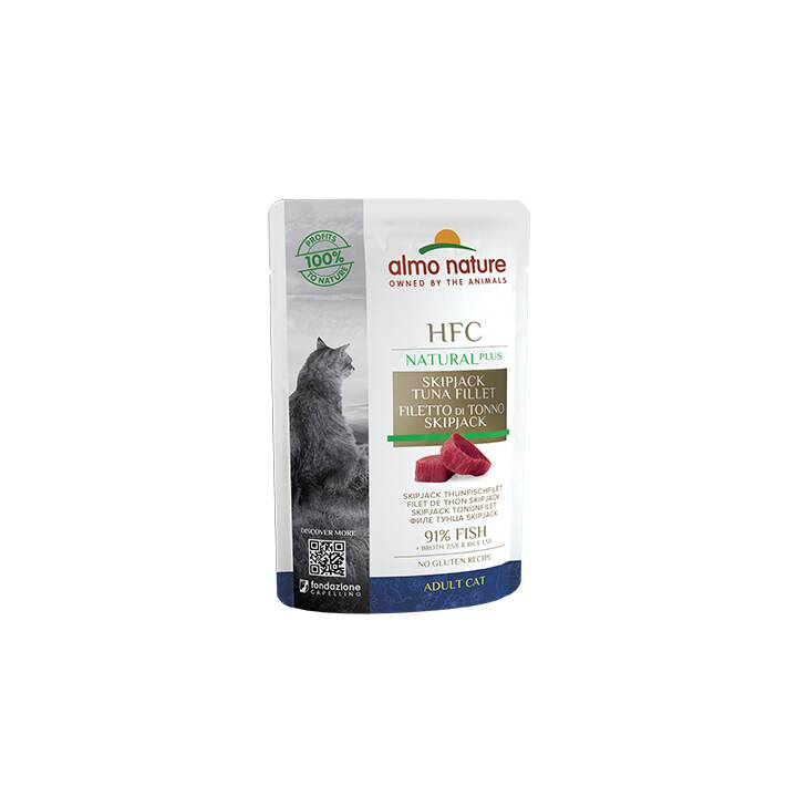 ALMO NATURE HFC Natural Plus (Adulto, 55 g, Tonno)