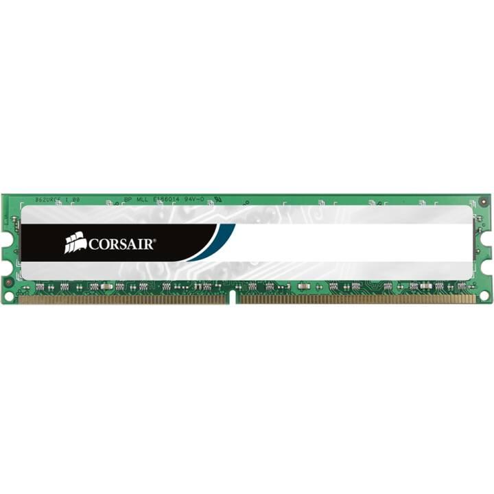 CORSAIR Value Select (1 x 8 Go, DDR3-SDRAM, DIMM 240-Pin)