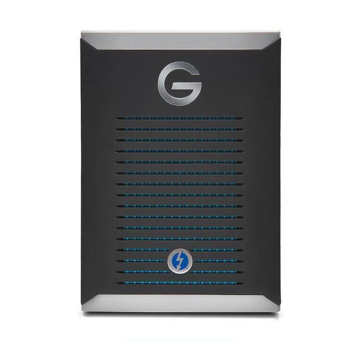 G-TECHNOLOGY G-Drive mobile Pro  (Thunderbolt, USB Tipo C, 500 GB, Argento, Nero)