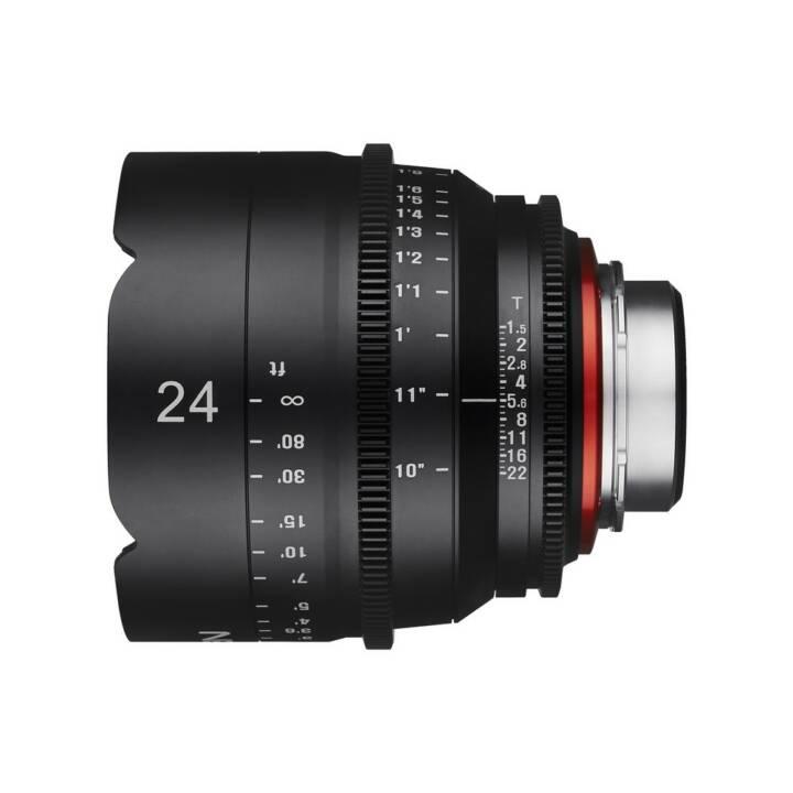 Objectif grand angle SAMYANG Xeen 24 mm T1.5