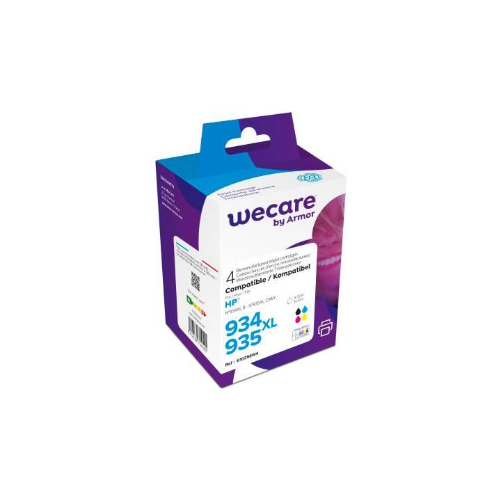 WECARE X4E14AEWE (Cyan, Magenta, Schwarz, Gelb, 4 Stück)