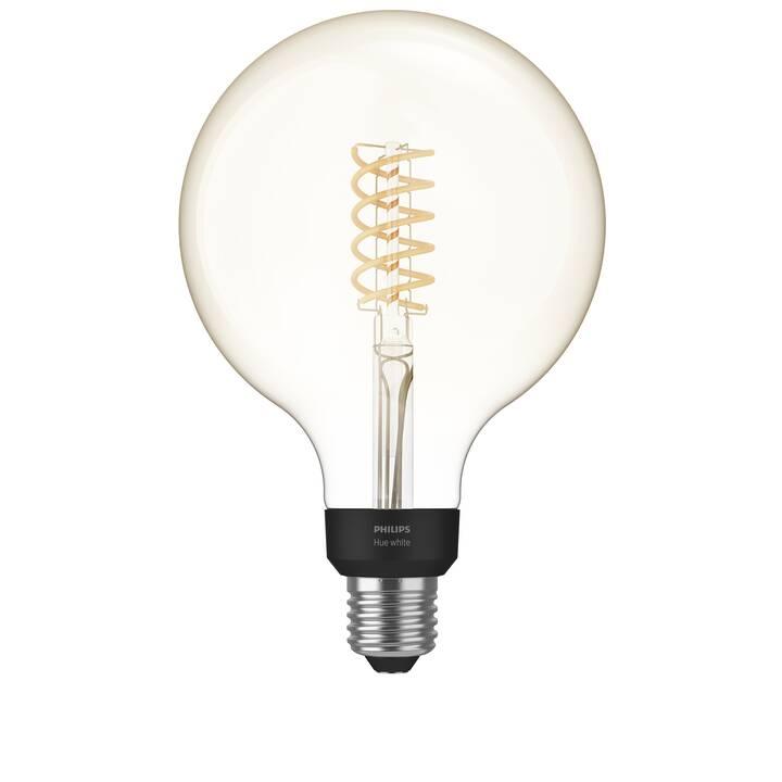 PHILIPS HUE Ampoule LED Filament Giant Globe (E27, Bluetooth, 7 W)