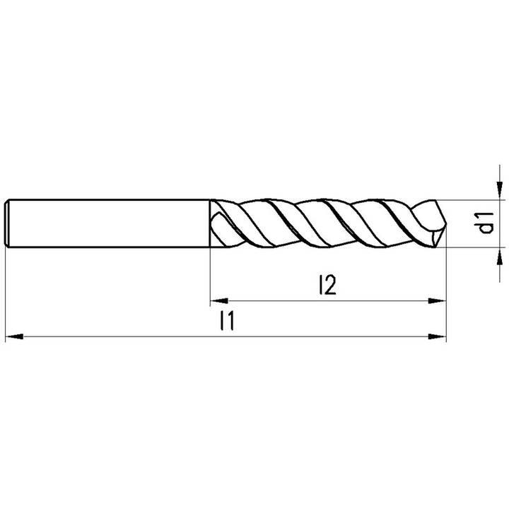 TITEX Mèches A1249-XPL Typ UFL (3.9 mm)