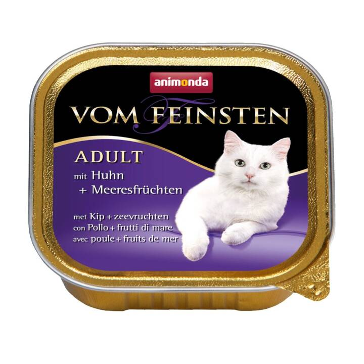 ANIMONDA Vom Feinsten (Adulte, 100 g, Poule, Fruits de mer)