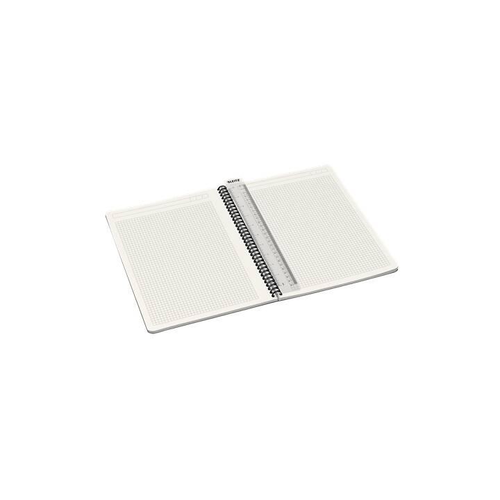 LEITZ Blocchi note Office Card (A4, Quadrettato)