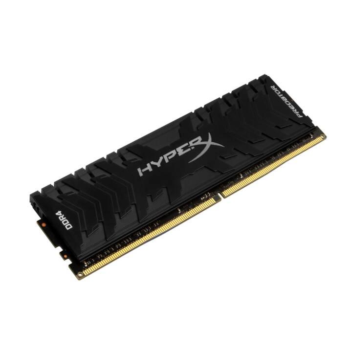 HYPERX Predator (1 x 8 GB, DDR4-SDRAM, DIMM 288-Pin)