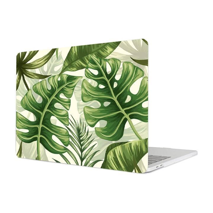 """EG Housse pour Macbook Pro 16"""" Touchbar (2019) - Tropical Plants"""