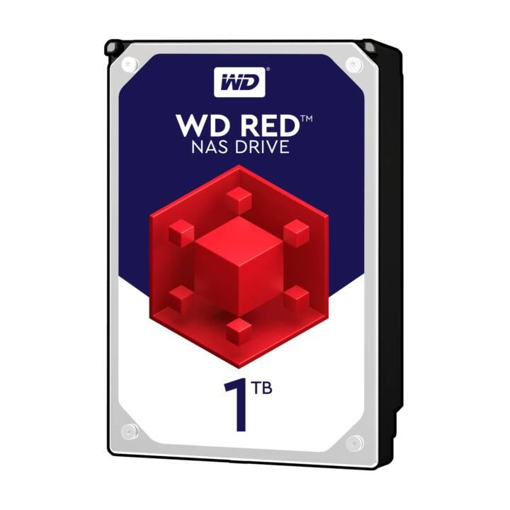 WESTERN DIGITAL Red Plus (SATA, 1 TB, Noir)