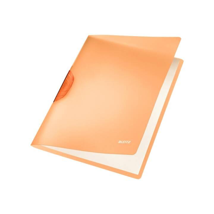 Agrafeuse à clip orange LEITZ A4